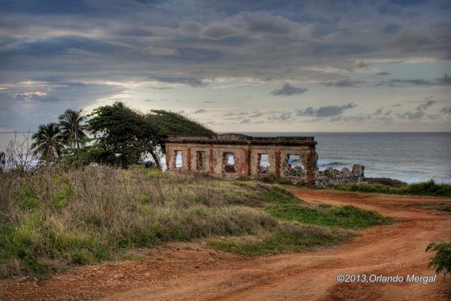 Punta Borinquen Lighthouse Ruins, Aguadilla, Puerto Rico