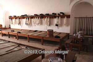 Soldier's quarters, Fort San Cristóbal, Old San Juan, Puerto Rico