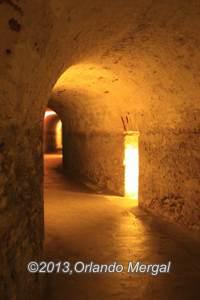 Tunnels at Fort San Cristobal, Old San Juan, Puerto Rico