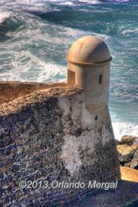 The Devil's Sentry Box, Fort San Cristóbal, Old San Juan, Puerto Rico