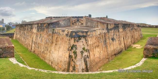 El Abanico, Fort San Cristobal, Old San Juan, Puerto Rico