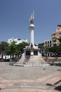Colombus Square, Plaza Colón, Old San Juan