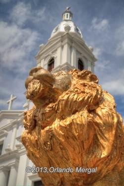 """Ponce is known as """"la ciudad de los leones"""", the city of lions."""