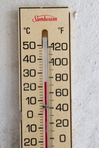 This was the temperature this morning at my home in Puerto Rico. Isn't it great? Clic on the image to see it larger.