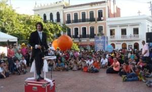It's circus time in Old San Juan