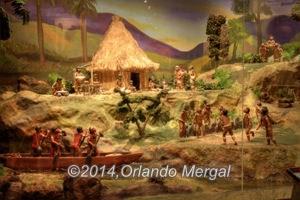 Taíno village.