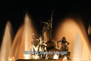 """Raíces"" Fountain. Click on image to see it larger."