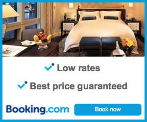Make your reservation with Booking dot com
