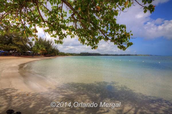 Sardinera Beach, Balneario Manuel Morales, Dorado, PR.