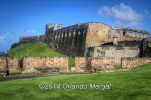 Fort San cristobal, the largest Spanish fort in the New World. Click on the image to see it larger.