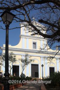 San Juan Cathedral. Click on image to see it larger.