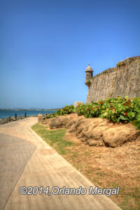 "The ""Paseo del Morro"" is beautiful and baron."