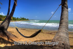 "A stretch of coastline in Guayama right behind ""La Casa De Los Pastelillos"""