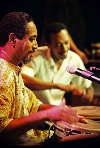 Cachete Maldonado during the1999 Puerto Rico Heineken Jazzfest