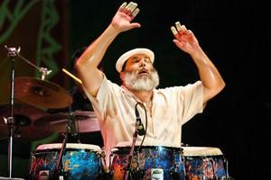 Poncho Sánchez during the 2006 Puerto Rico Heineken Jazzfest