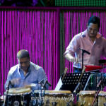 "William ""Kachiro"" Thompson and Enrique Serrano at the Puerto Rico Heineken Jazzfest 2015"
