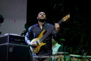 William Cruz at the Puerto Rico Heineken Jazzfest 2015