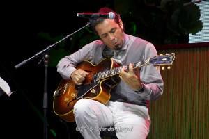 Millo Torres at the Puerto Rico Heineken Jazzfest 2015