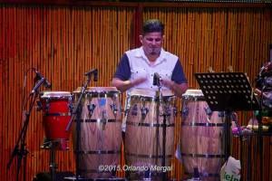 Gadwin Vargas at the Puerto Rico Heineken Jazzfest 2015