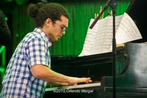 Fabián Almazán at the Puerto Rico Heineken Jazzfest 2015