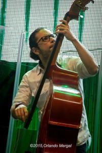Ricky Rodríguez at the Puerto Rico Heineken Jazzfest 2015