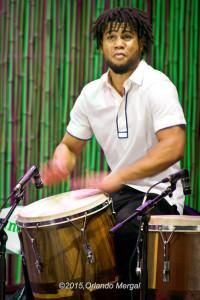 Jhan Lee Aponte at the Puerto Rico Heineken Jazzfest 2015