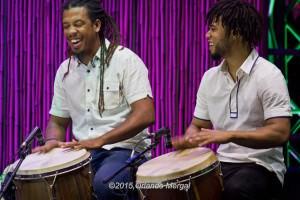 Jhan Lee Aponte and ??? ??? at the Puerto Rico Heineken Jazzfest 2015