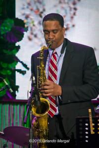 Javon Jackson at the Puerto Rico Heineken Jazzfest 2015
