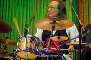 "Horacio ""El Negro"" Hernández at the Puerto Rico Heineken Jazzfest 2015"