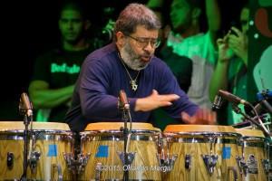 Giovanni Hidalgo at the Puerto Rico Heineken Jazzfest 2015