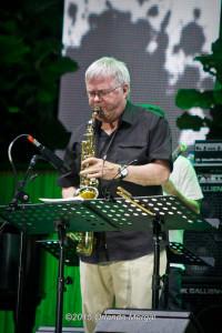 Larry Monroe at the Puerto Rico Heineken Jazzfest 2015