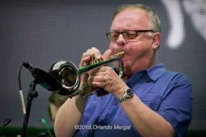 Scott DeOgburn at the Puerto Rico Heineken Jazzfest 2015