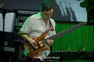 Fernando Huergo at the Puerto Rico Heineken Jazzfest 2015