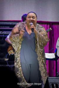 Donna McElroy at the Puerto Rico Heineken Jazzfest 2015
