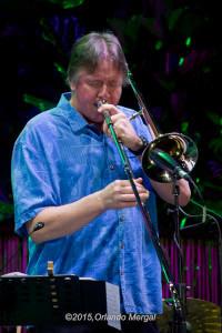 Conrad Herwig at the Puerto Rico Heineken Jazzfest 2015