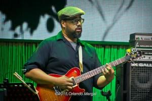 Mateo Laboriel at the Puerto Rico Heineken Jazzfest 2015