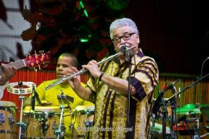 Justo Almario at the Puerto Rico Heineken Jazzfest 2015