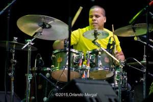 Walter Rodríguez at the Puerto Rico Heineken Jazzfest 2015