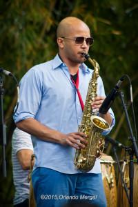 Louis Fouche at the Puerto Rico Heineken Jazzfest 2015