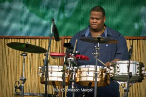 Camilo Ernesto Molina at the Puerto Rico Heineken Jazzfest 2015
