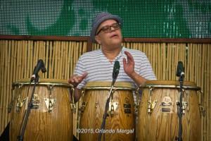 """Vincente """"Little Johnny"""" Rivero at the Puerto Rico Heineken Jazzfest 2015"""