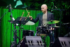 Nicola Angelucci at the Puerto Rico Heineken Jazzfest 2015