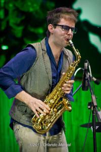 Mattia Gigalini at the Puerto Rico Heineken Jazzfest 2015