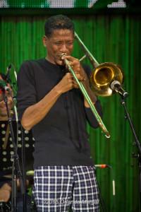 William Cepeda at the Puerto Rico Heineken Jazzfest 2015