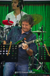 Jorge Laboy at the Puerto Rico Heineken Jazzfest 2015