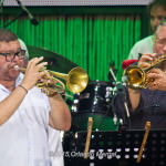 Julito Alvarado and Arturo Sandoval at the Puerto Rico Heineken Jazzfest 2015