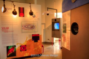 Solar wind exhibit