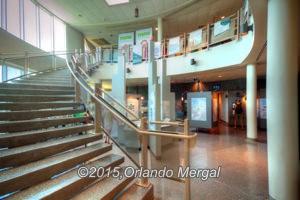 Inside the visitor center, Arecibo Radio-Telescope.