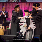 Receiving the Doctorate Degree