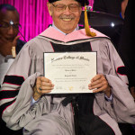 Showing the Doctorate Degree